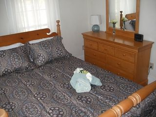 North Conway house photo - Nice dresser in bedroom