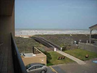South Padre Island condo photo - Spectacular view of walkway to beach and Gulf of Mexico