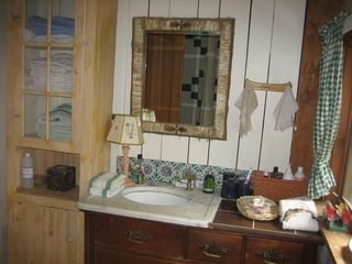 Monterey house photo - upstairs bathroom