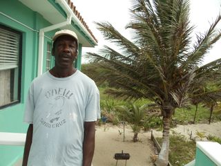 Ambergris Caye house photo - Sam, The caretaker ready to take care of your family