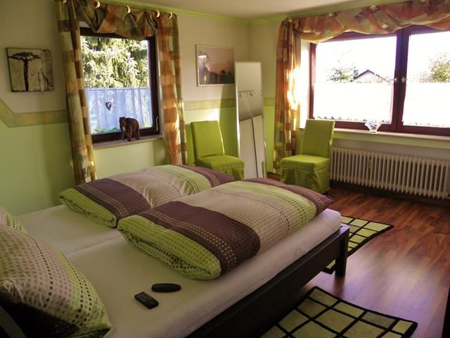 In Lauchertal you get a comfortable ****home, with garden pond