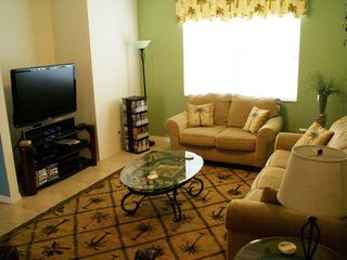 Cape Coral house photo - Family Room. Queen sleeper sofa, 47 inch LCD TV, surround sound and DVD