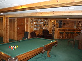 Burt Lake house photo - lower level