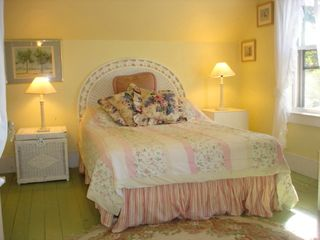 Oak Bluffs house photo - Upstairs bedroom with Double bed, also twin rollaway bed can fit in any bedroom