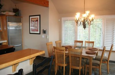Dining Area off Kitchen (Seats 8)