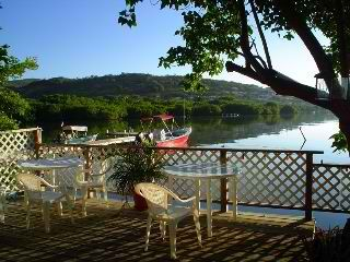 Culebra cottage photo - Deck with the view of Ensenada Honda Bay.....