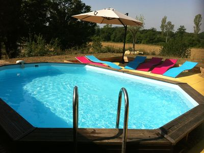 COTTAGE UP TO 8 PEOPLE WITH PRIVATE POOL,