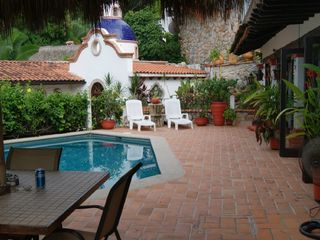 Puerto Vallarta villa photo - Across the street Garza Blanca, one of the best beaches in the area