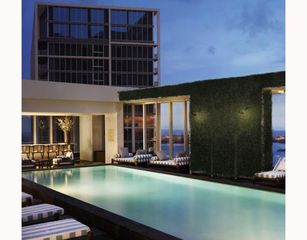Brickell apartment photo - Roof-top pool - Club 50.