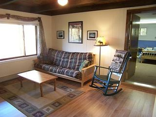Bartlett chalet photo - Lower level family room with TV DVD and Mt views