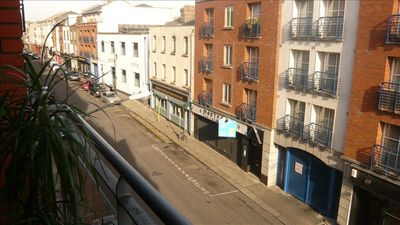 View of Francis Street from Balcony
