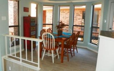 Cedar Creek Lake house rental - Dining Room