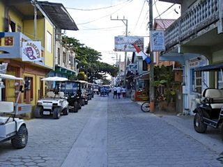 Ambergris Caye villa photo - Colourful San Pedro Town