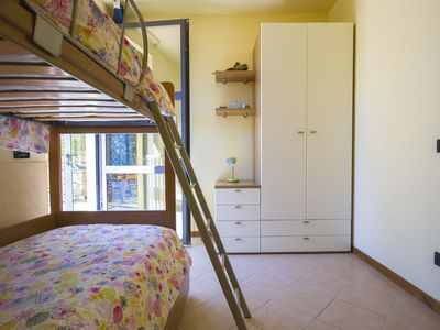 the second double bedroom of Ginestra
