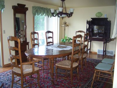 formal dining area - another angle