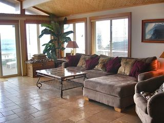 Sunset Beach house photo - Oceanfront Family Room