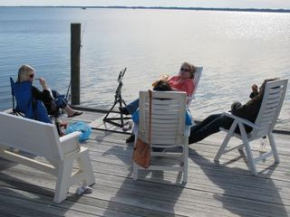 Virginia Beach farmhouse photo - Fishing, crabbing, floating on the bay..SUP boarding, relaxing..it's all yours!!