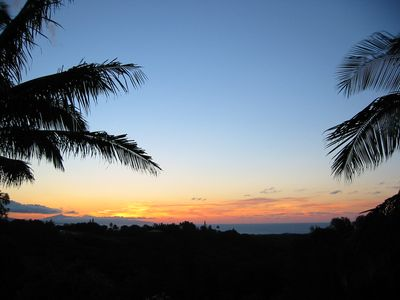 Ocean Sunsets from the Top Lanai