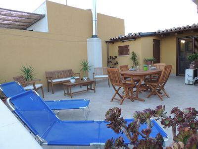 Apartment - with large terrace and city views, private home - the Noto Baroque capital.
