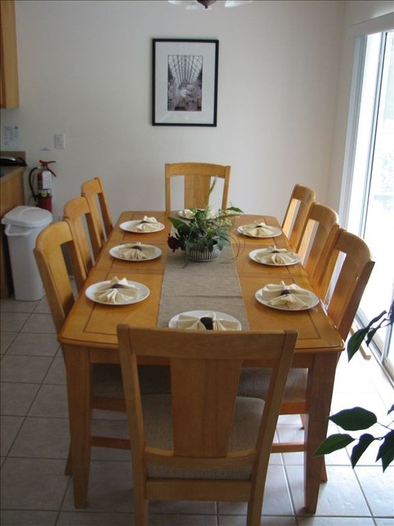 Dining - Seating for 8