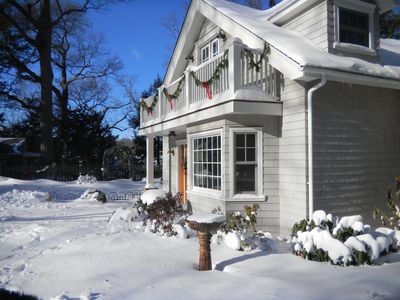 A wonderful home in the winter, too!