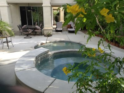 jacuzzi and cooling pool