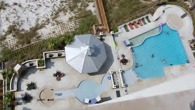 Outside Amenities: Pool, Kiddie Pool, Gazebo, Grills, Fireplace and Beach Access