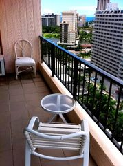 Waikiki condo photo - Lanai with ocean view