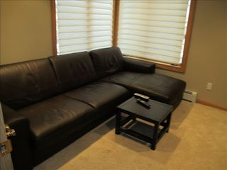 Incline Village house photo - TV Den with Pull Out Sofa Bed and flat screen TV.
