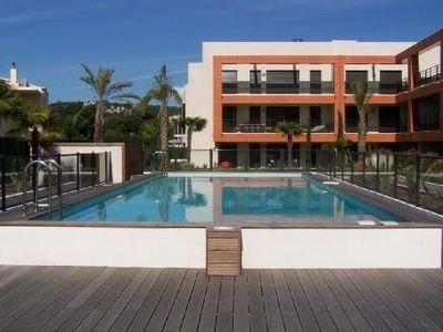 F1 beautiful new 2 steps from the sea in a beautiful pool residence