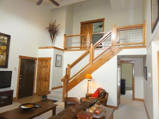 Steamboat Springs condo photo - View of Loft (3rd Bedroom)