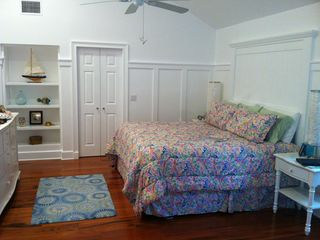 Old Naples house photo - Master suite is a bedroom, sitting room, dressing room and two room bath!
