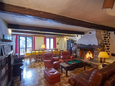 Large  mountain house with character  Parc National du Mercantour