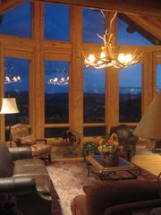 Granby lodge photo - Great Room with extraordinary views