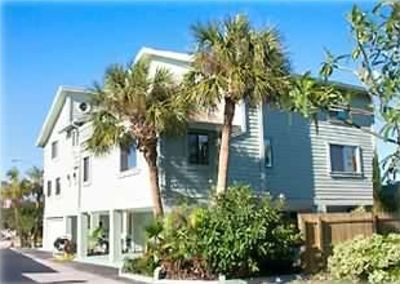 Treasure Island house rental - Palm Trees frame our spacious contemporary home