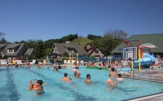 Crystal Mountain, Thompsonville cottage photo - Swim, have fun at the Water Park at Crystal Mountain Resort & Spa