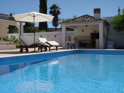 Sao Bras de Alportel region villa rental - The perfect holidays with a private pool. Enjoy the spacious BBQ by the pool.