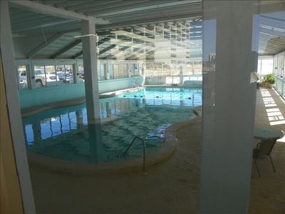 Indoor/Heated Olympic size pool