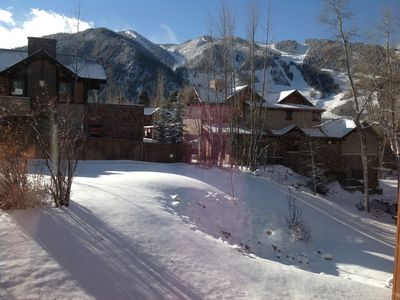 Your view of Aspen from bedroom or livingroom