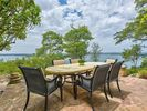 Enjoy your meal or beverage while overlooking the lake. Let the wind carry the sound of your laughter as you and your guests experience uninhibited joy.
