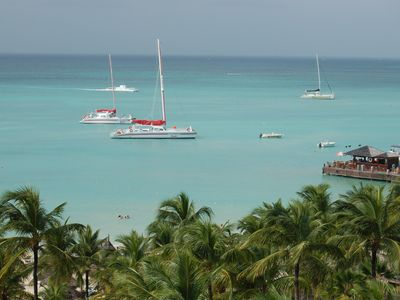 sailboats, etc near occidental grand aruba