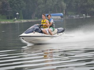 Lake Sinissippi house photo - 3 person jet ski. You can tube or ski behind it also.