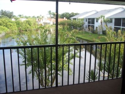 Venice condo rental - Lake view from the lanai
