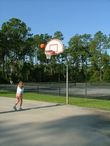 Naples villa rental - Basketball Court