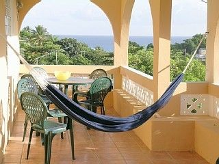 Vieques Island villa photo - Front porch