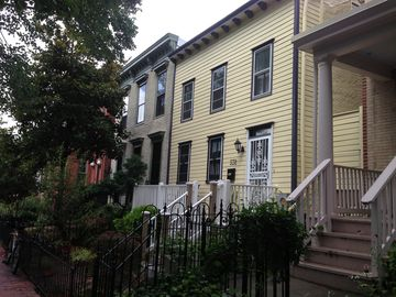 Capitol Hill townhome rental - Our rowhouse was built in 1858 as DC grew into its role as the new U.S. Capitol.