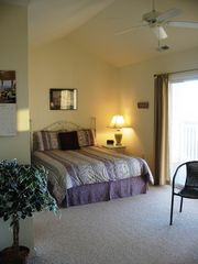 Fenwick Island townhome photo - Welcome to our roomy Master Bedroom getaway on the 3rd Floor