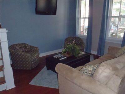 Annapolis house rental - Attention to Every Detail, Including 2 Flat Panel TV's