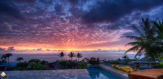 Kailua Kona house photo - Enjoy a Mai Tai while watching a perfect Hawaiian Sunset from the private lanai.