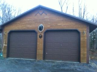 Chazy Lake house photo - 2 Car Garage